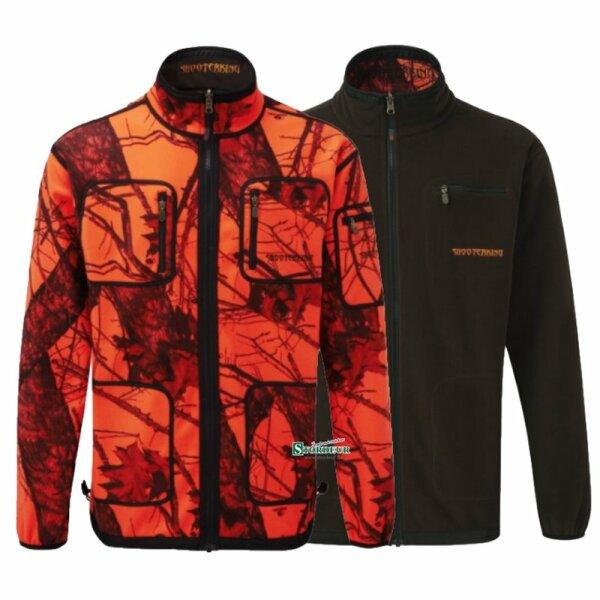 Shooterking Jacke Softshell camouflage orange
