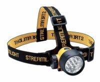 Kopflampe Septor LED gelb