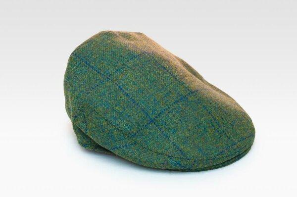 Tweed Cap blauer Streifen