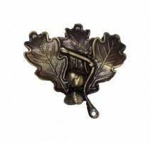 Eichenlaubabdeckung 2 - Bronze