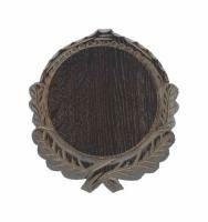 Keilerschild Geschnitzt - 12 cm Dunkel