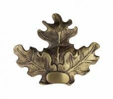 Eichenlaubabdeckung - Bronze