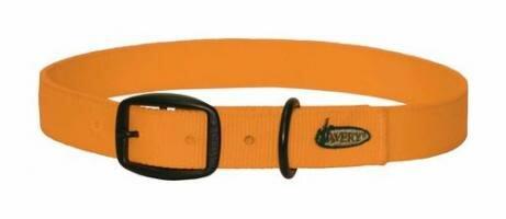 AVERY Standard Halsband - Leuchtorange - Medium