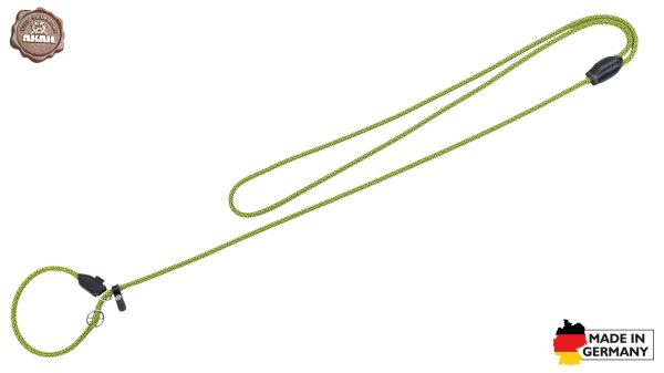 AKAH Moxon-Umhängeleine Stahlblau-Neongelb