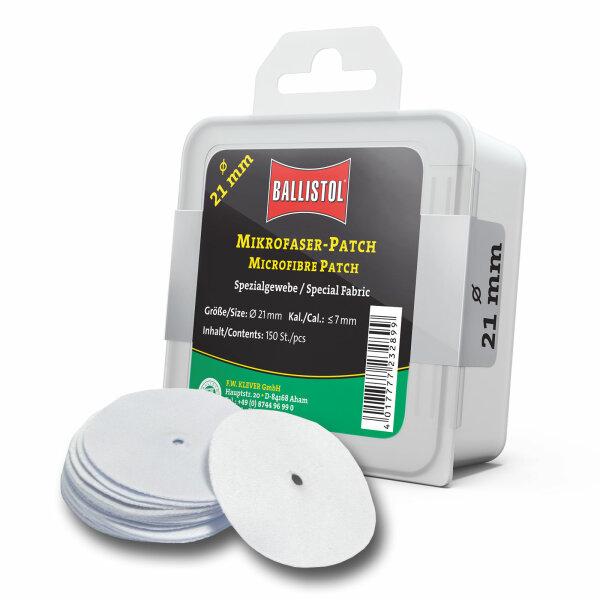 Ballistol Mikrofaser-Patch rund Ø 21 mm