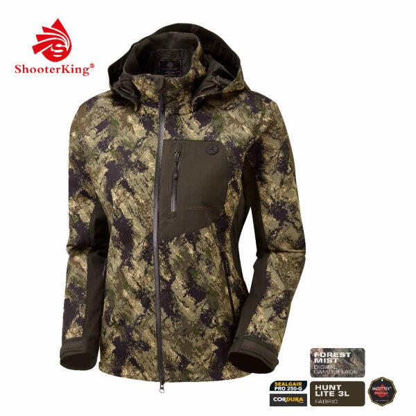 Shooterking Huntflex Jacke Digital Camo Forest Mist Damen