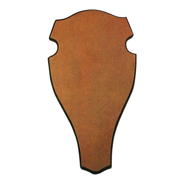 Geweihbrett für Rot- u. Damhirsch, abgerundete Form, dunkle Eiche (versch. Größen)