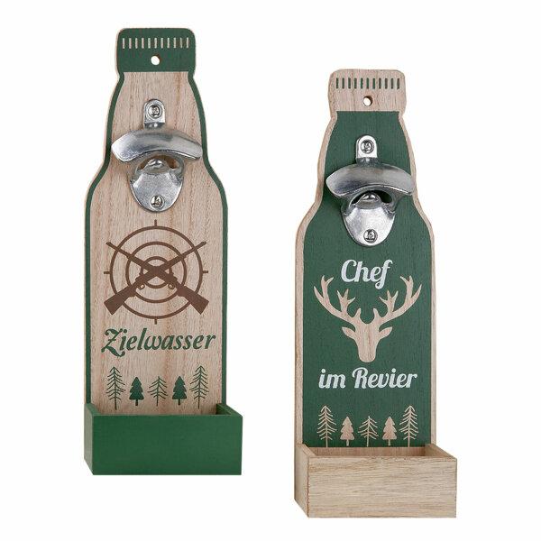 Flaschenöffner mit Korkensammler