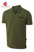 Shooterking Game Polo Shirt grün 3XL